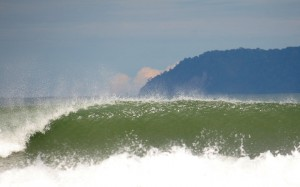 A perfect wave in Pavones